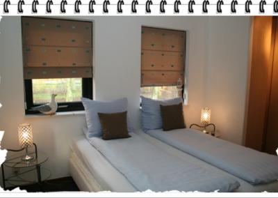 Bungalow de Skuumkoppe slaapkamer beneden