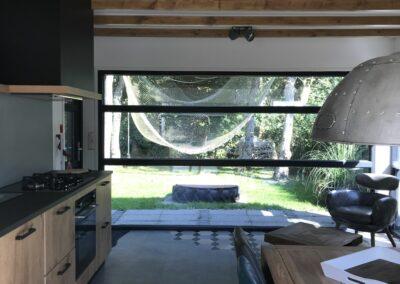 Keuken met uitzicht